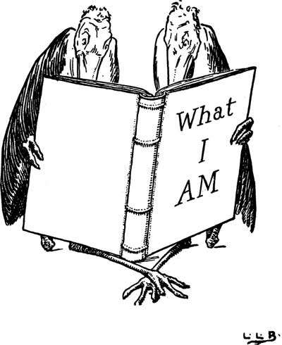 Original illustration of birds reading, by L. Leslie Brooke for the bedtime story Johnny Crow's Garden