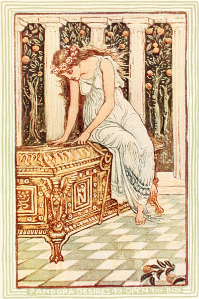 Pandora's Box by Nathaniel Hawthorne | Bedtime Stories