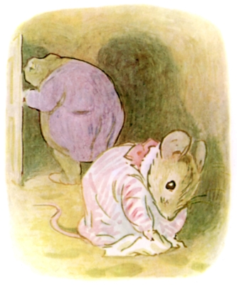 Beatrix Potter bedtime stories Tittlemouse and toad in hole