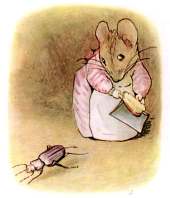 Beatrix Potter bedtime stories Tittlemouse and beetle