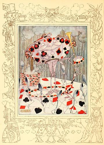 Original vintage illustration for Alice in Wonderland - Beautiful Soup