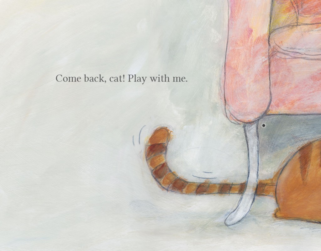 Book page 1 from short story for kids Come Back Cat by Book Dash
