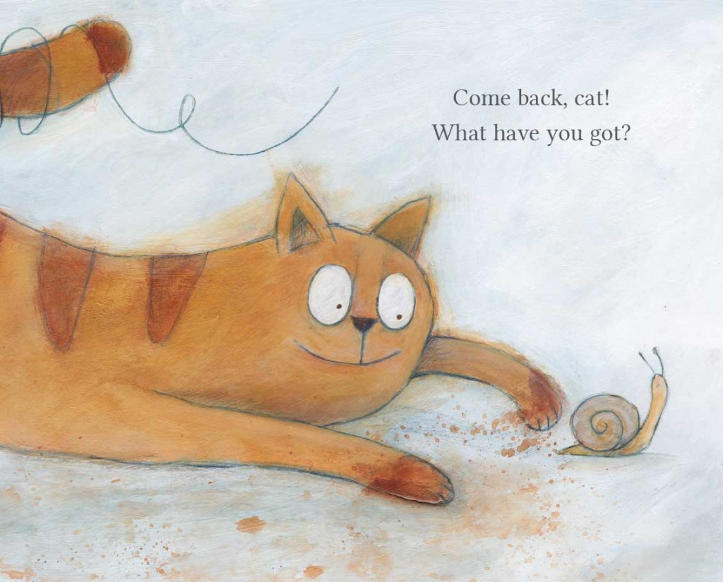 Book page 14 from short story for kids Come Back Cat by Book Dash
