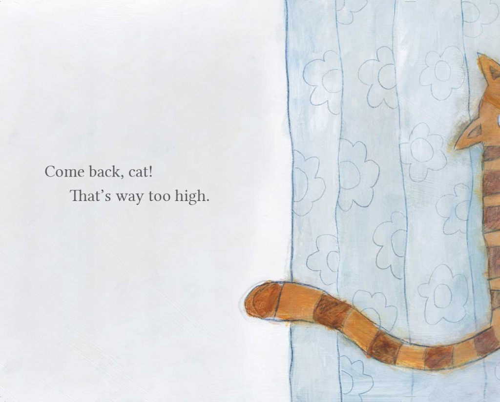 Book page 5 from short story for kids Come Back Cat by Book Dash