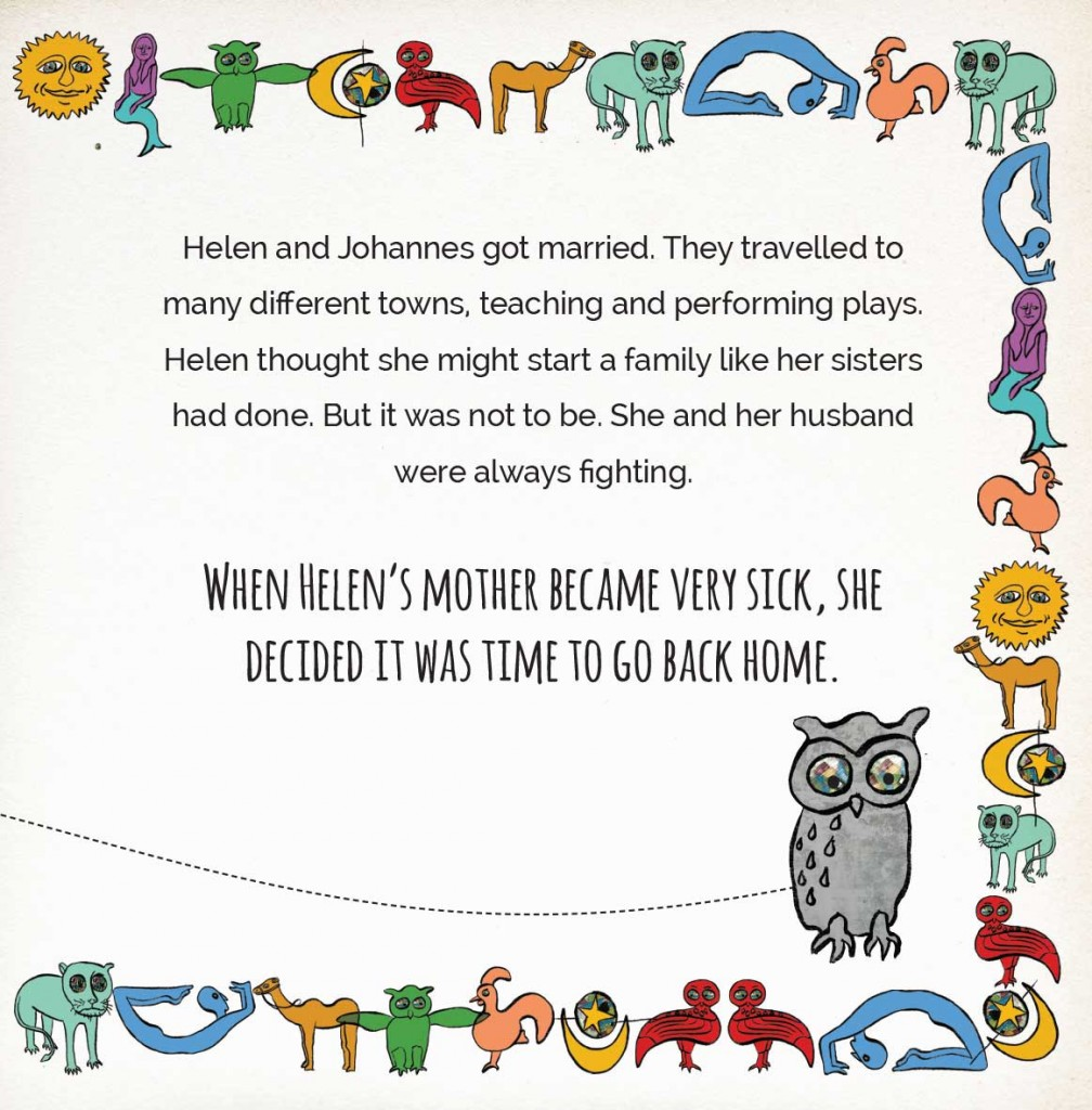 Book page 12 from short story for kids Miss Helen's Magical World by Book Dash