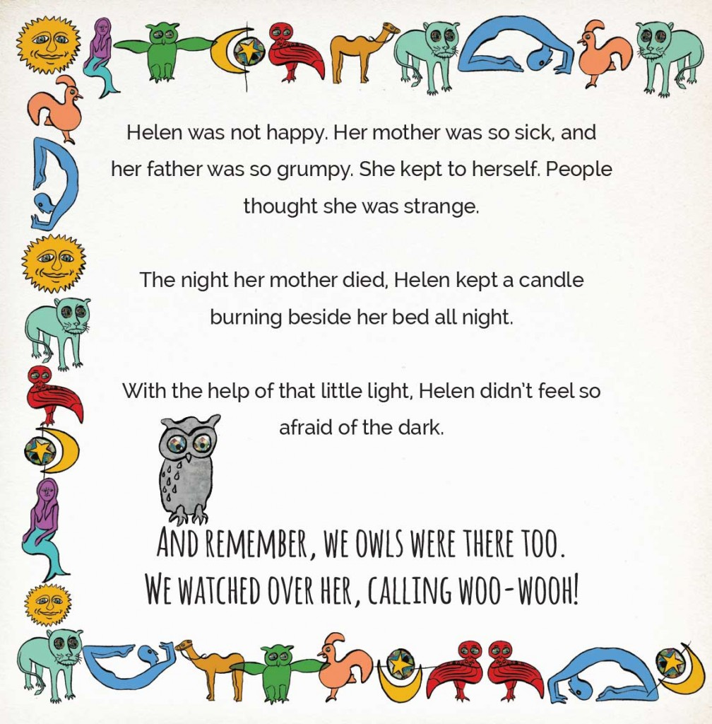 Book page 13 from short story for kids Miss Helen's Magical World by Book Dash