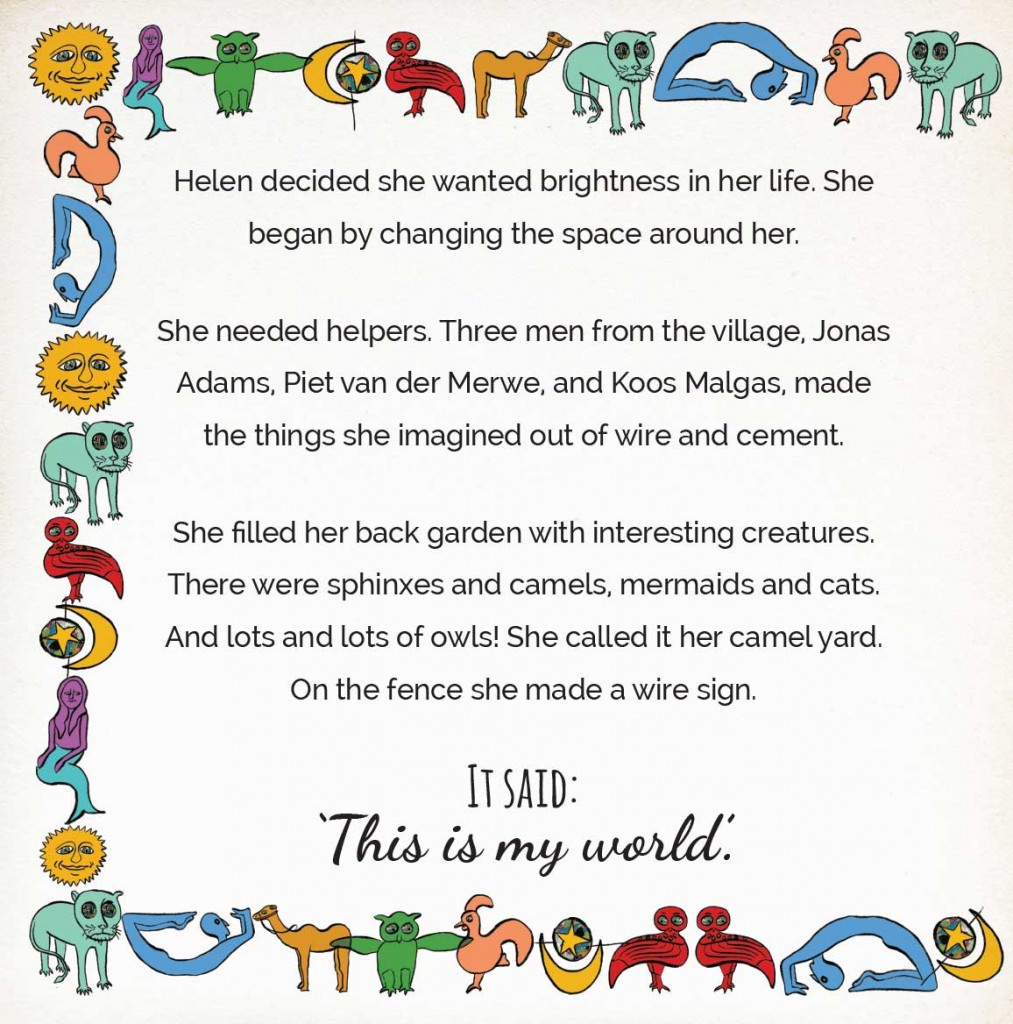 Book page 15 from short story for kids Miss Helen's Magical World by Book Dash
