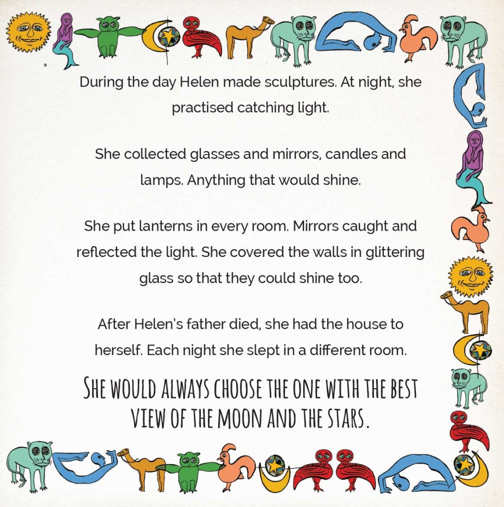 Book page 18 from short story for kids Miss Helen's Magical World by Book Dash