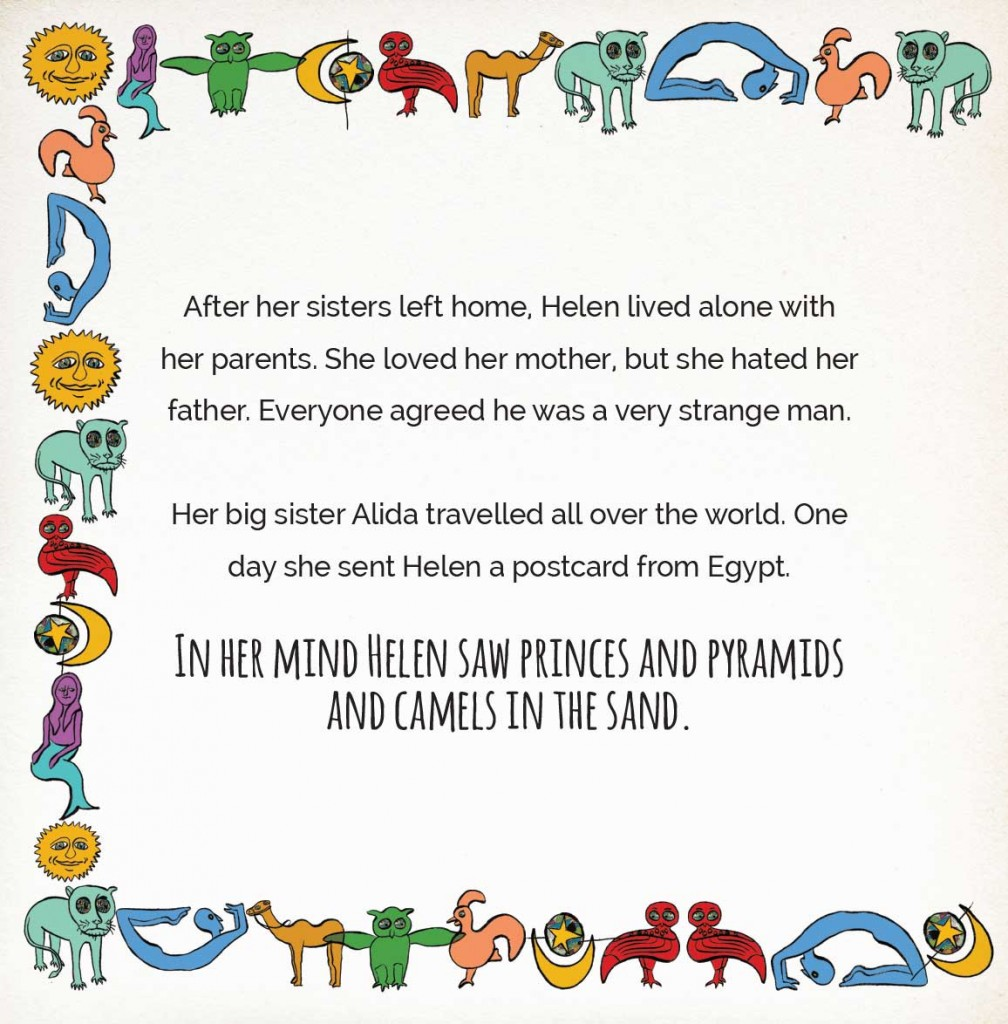 Book page 5 from short story for kids Miss Helen's Magical World by Book Dash