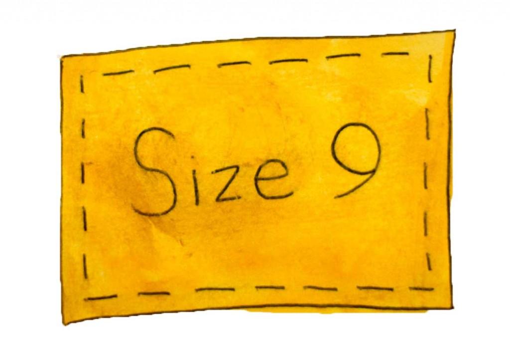 Kids illustration for short story mystery - Size 9 label