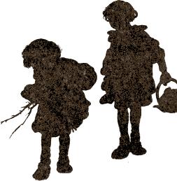 The Remarkable Rocket by Oscar Wilde bedtime story illustration - children's silhouette
