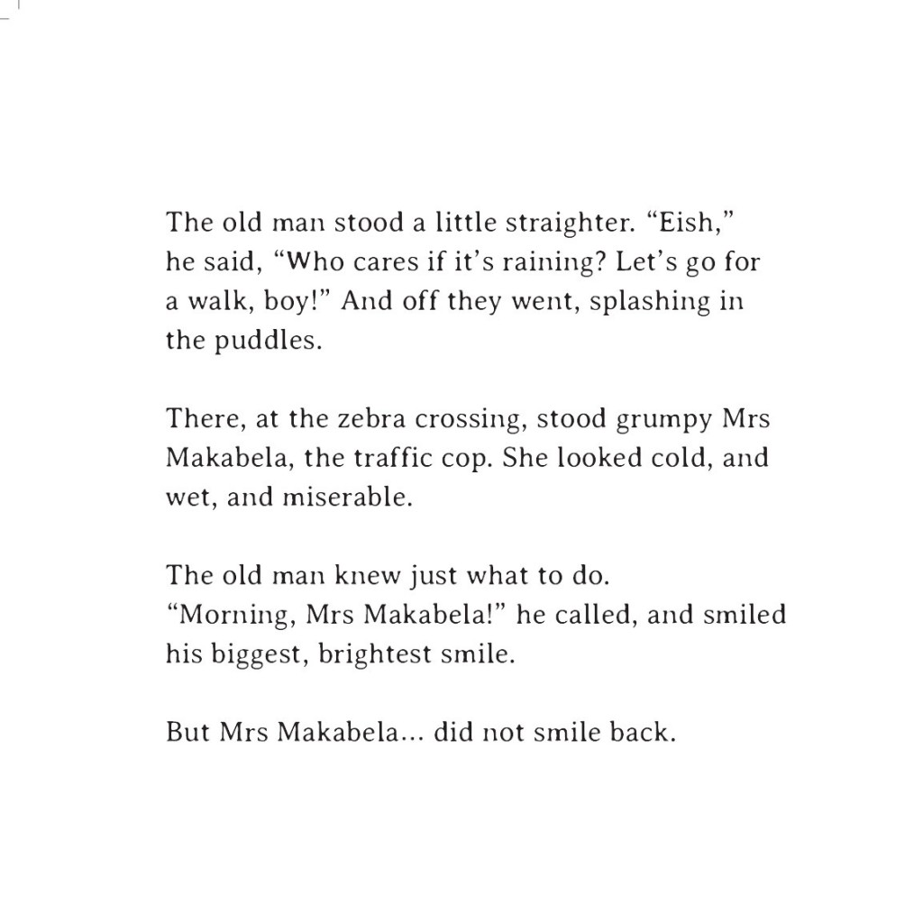 Book page 13 from short story for kids Sizwe's Smile by Book Dash
