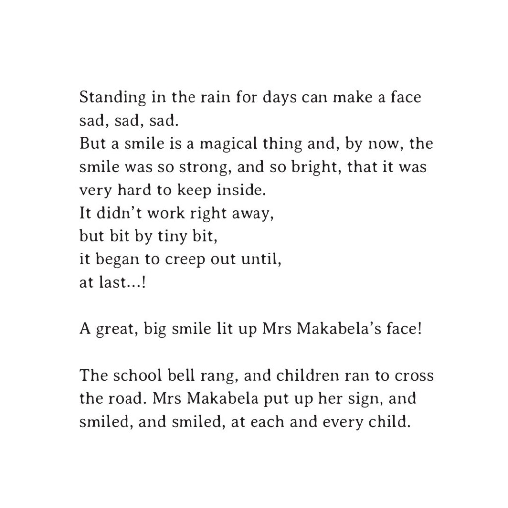Book page 15 from short story for kids Sizwe's Smile by Book Dash