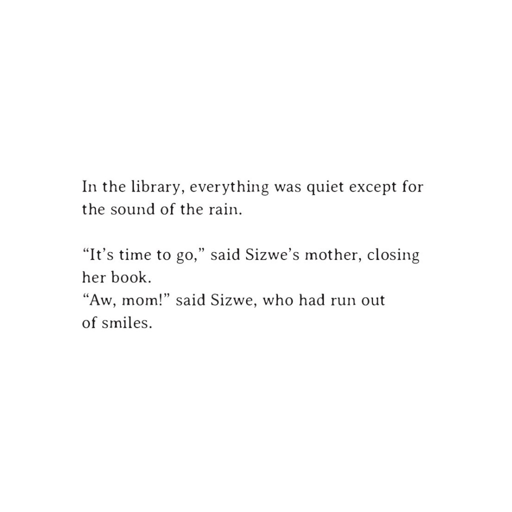 Book page 19 from short story for kids Sizwe's Smile by Book Dash