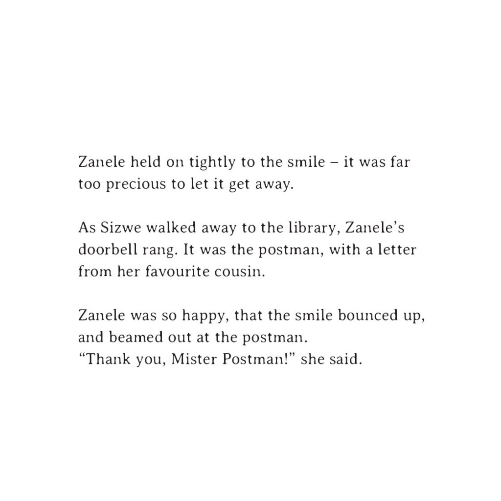 Book page 7 from short story for kids Sizwe's Smile by Book Dash