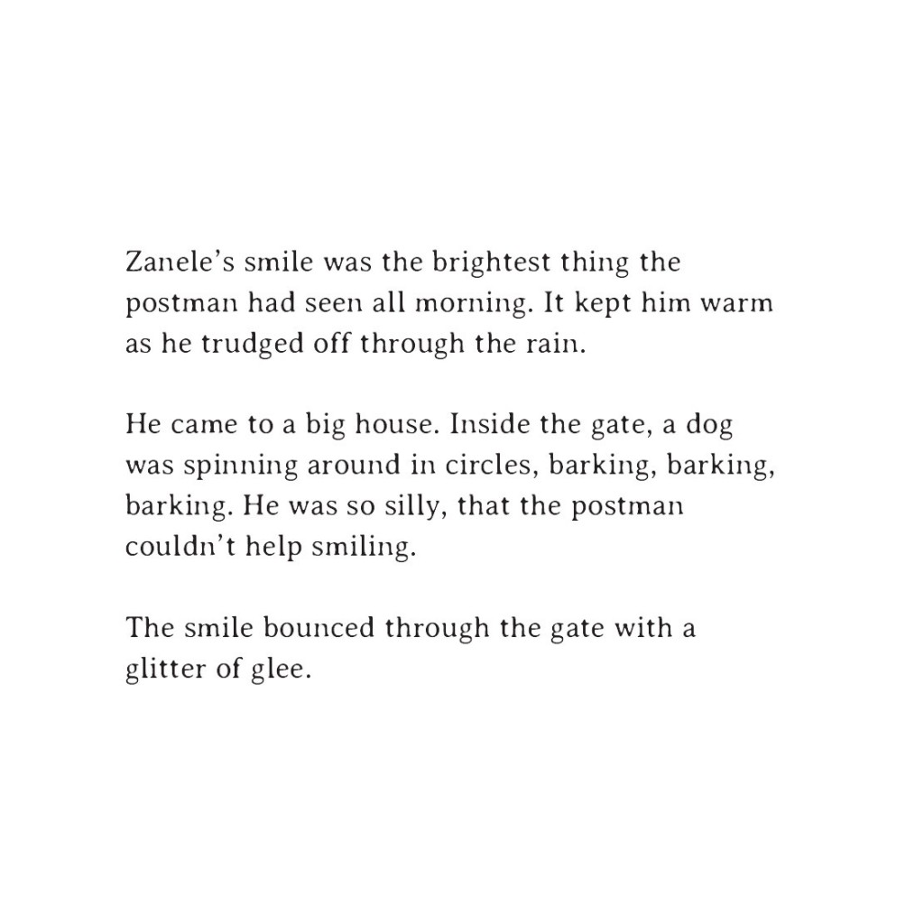 Book page 9 from short story for kids Sizwe's Smile by Book Dash