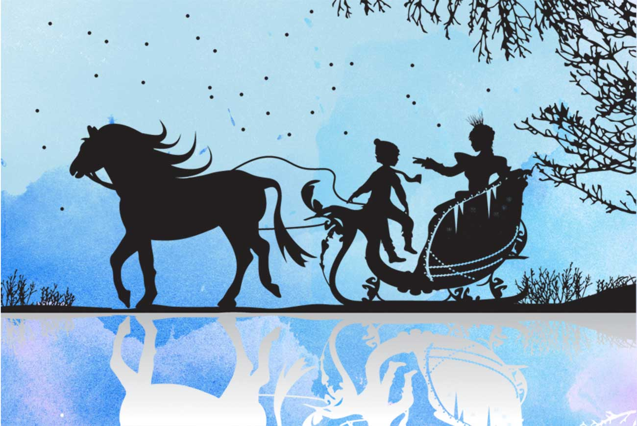 Bedtime stories illustration The Snow Queen