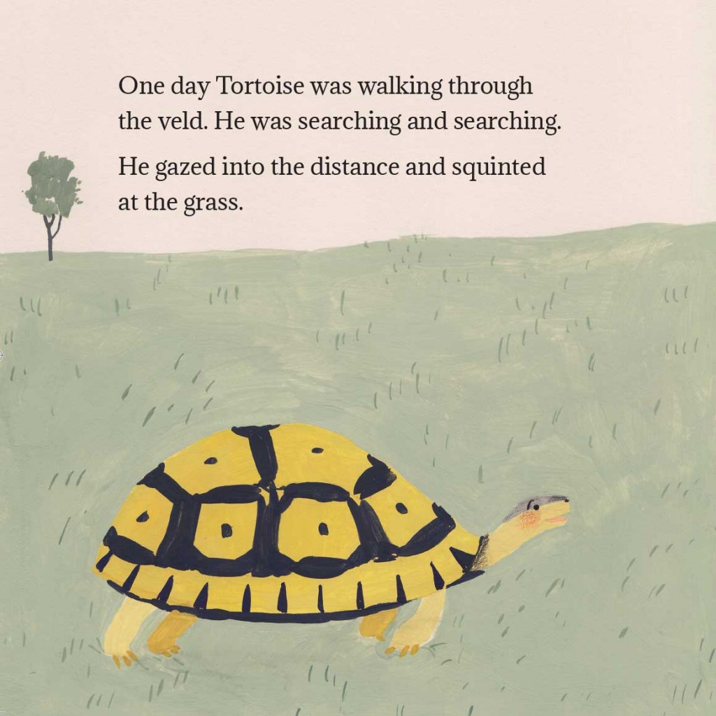 Book page 1 from short story for kids Tortoise Finds His Home by Book Dash