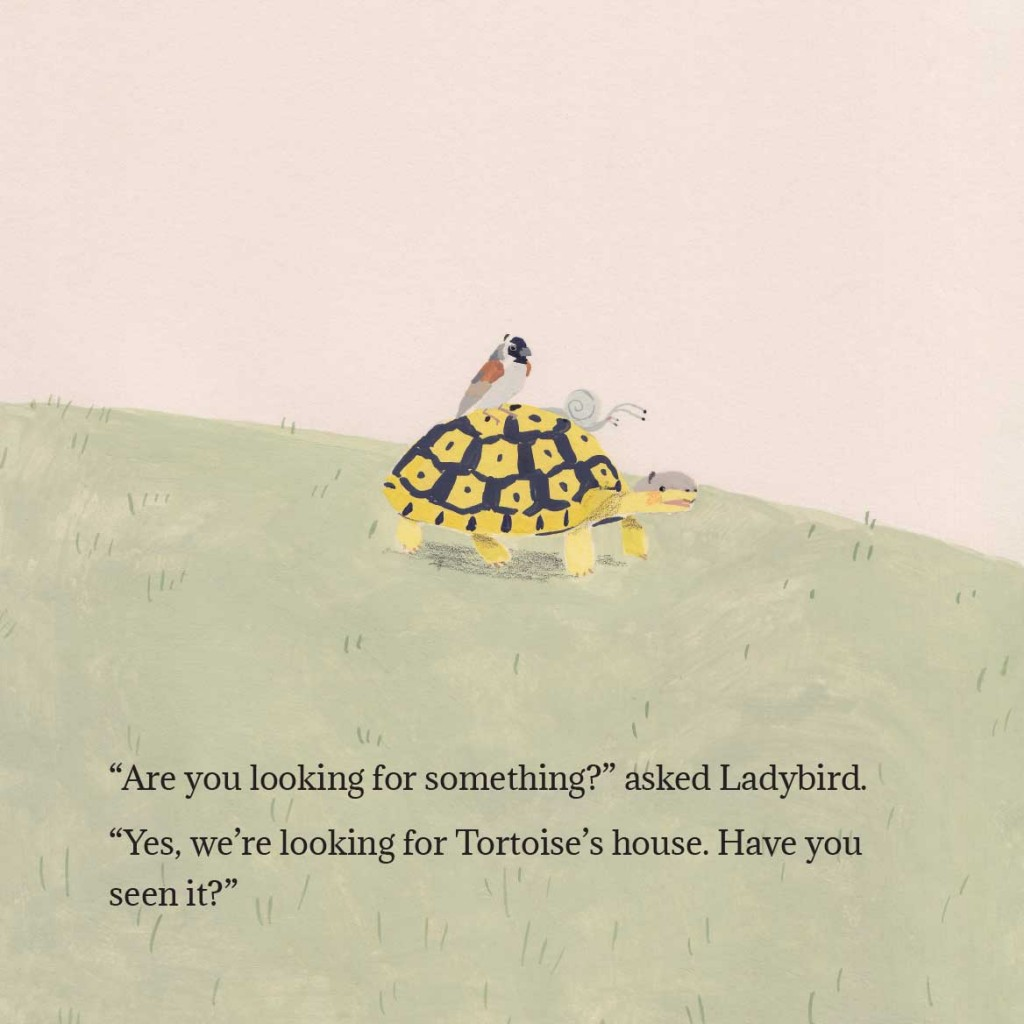Book page 9 from short story for kids Tortoise Finds His Home by Book Dash