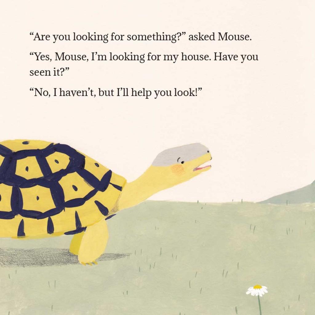 Book page 13 from short story for kids Tortoise Finds His Home by Book Dash