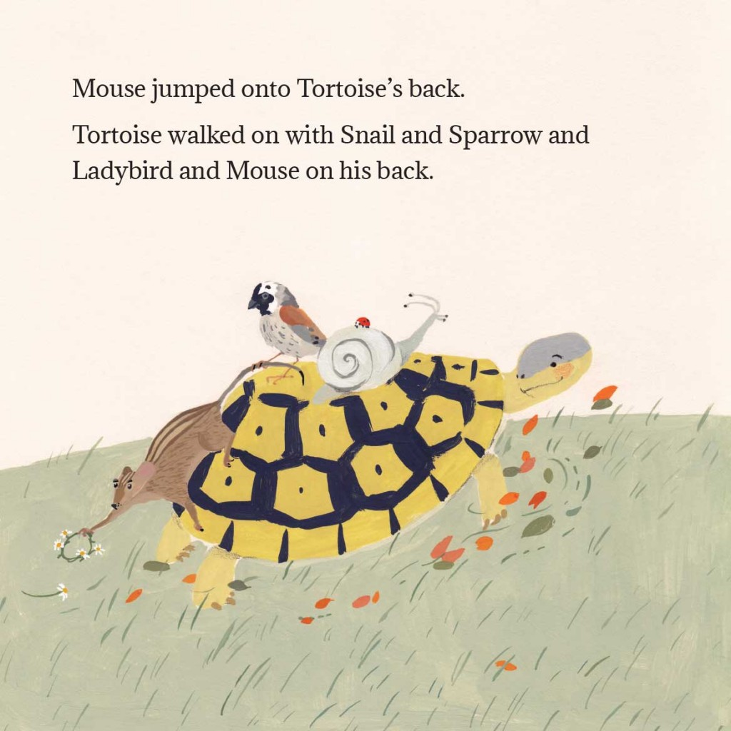 Book page 15 from short story for kids Tortoise Finds His Home by Book Dash