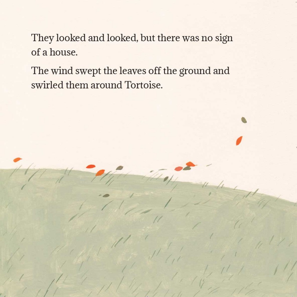 Book page 16 from short story for kids Tortoise Finds His Home by Book Dash