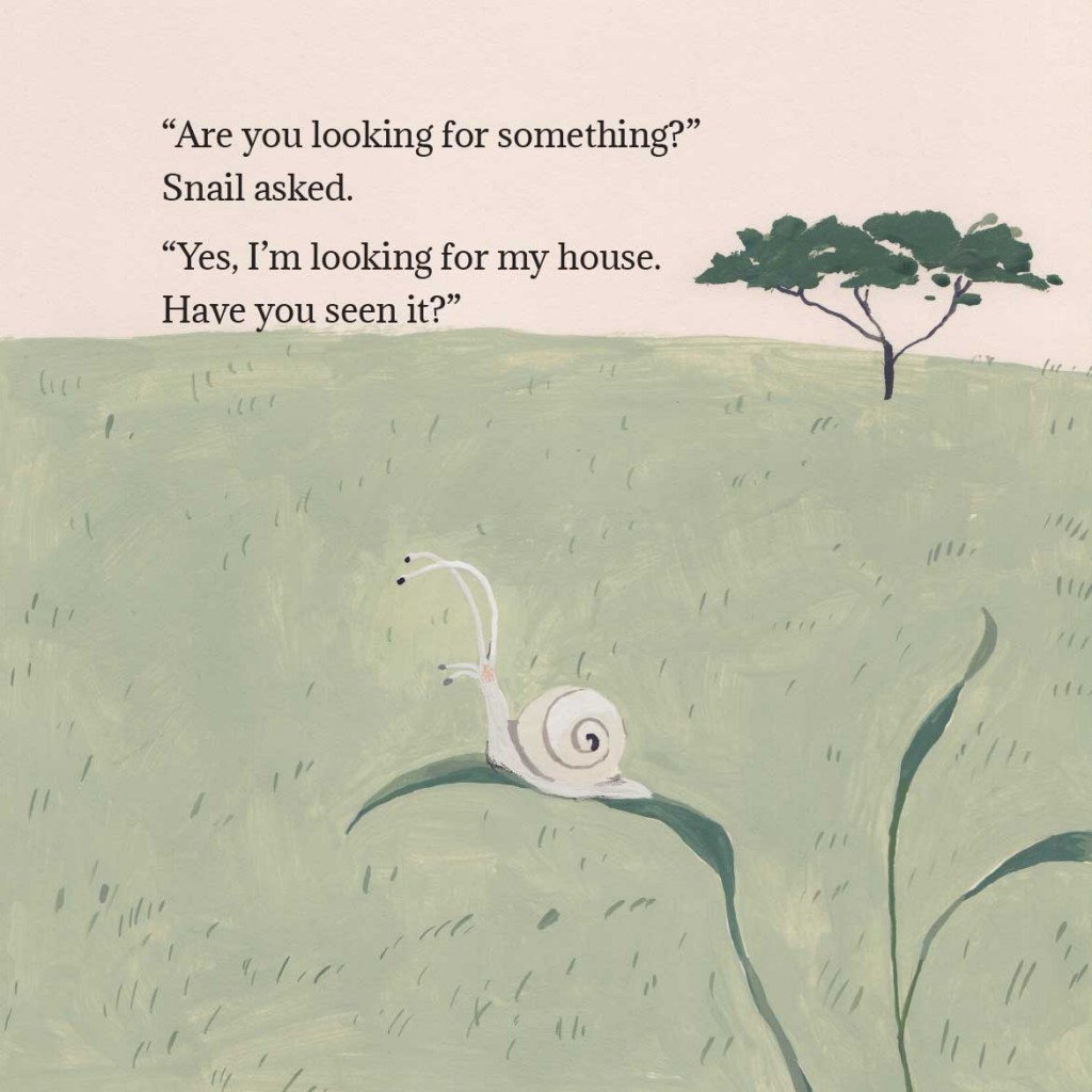 Book page 2 from short story for kids Tortoise Finds His Home by Book Dash