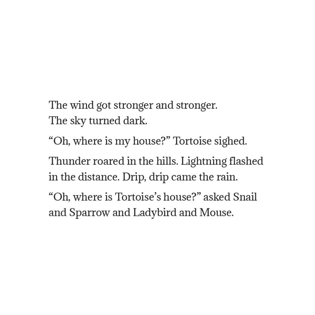 Book page 18 from short story for kids Tortoise Finds His Home by Book Dash