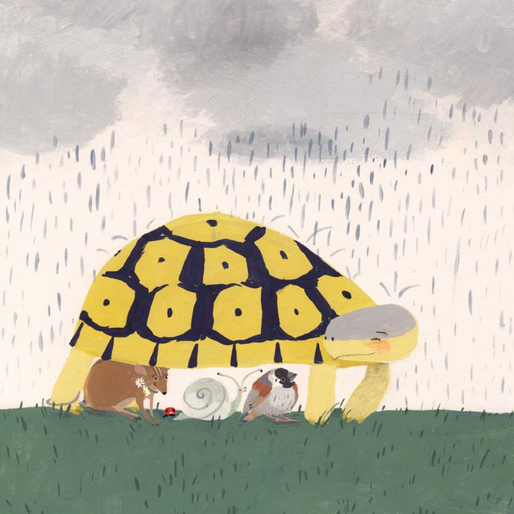 Book page 23 from short story for kids Tortoise Finds His Home by Book Dash