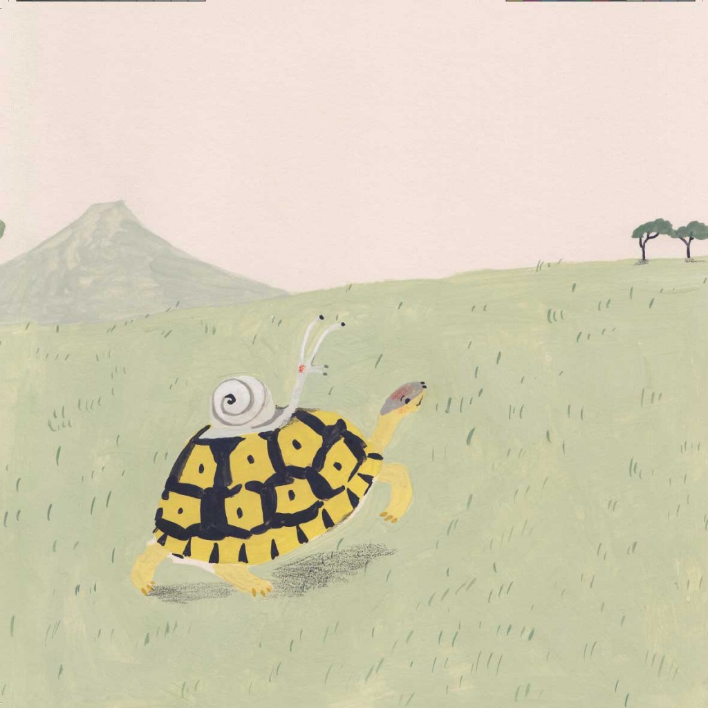 Book page 4 from short story for kids Tortoise Finds His Home by Book Dash
