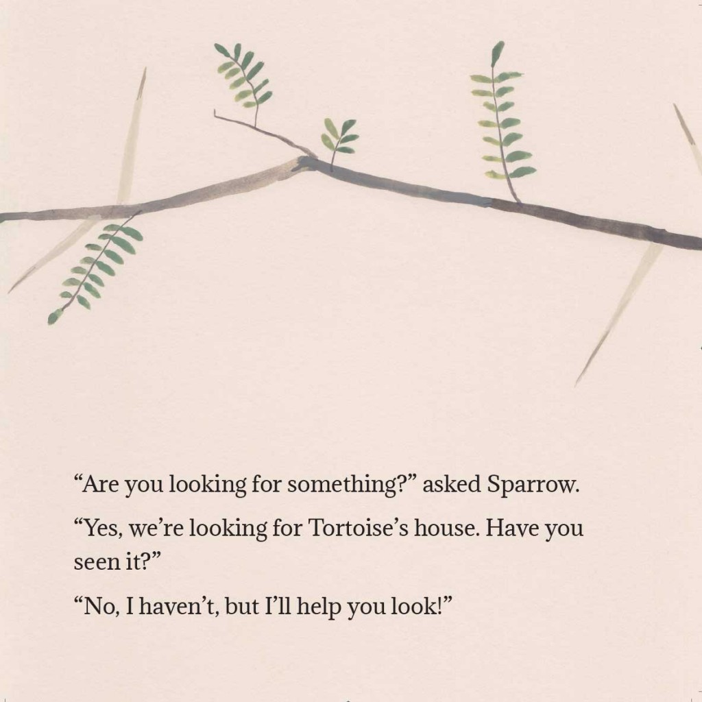 Book page 6 from short story for kids Tortoise Finds His Home by Book Dash