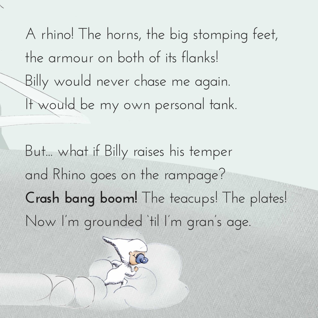 Book page 12 from short story for kids Maddy Moona's Menagerie by Book Dash