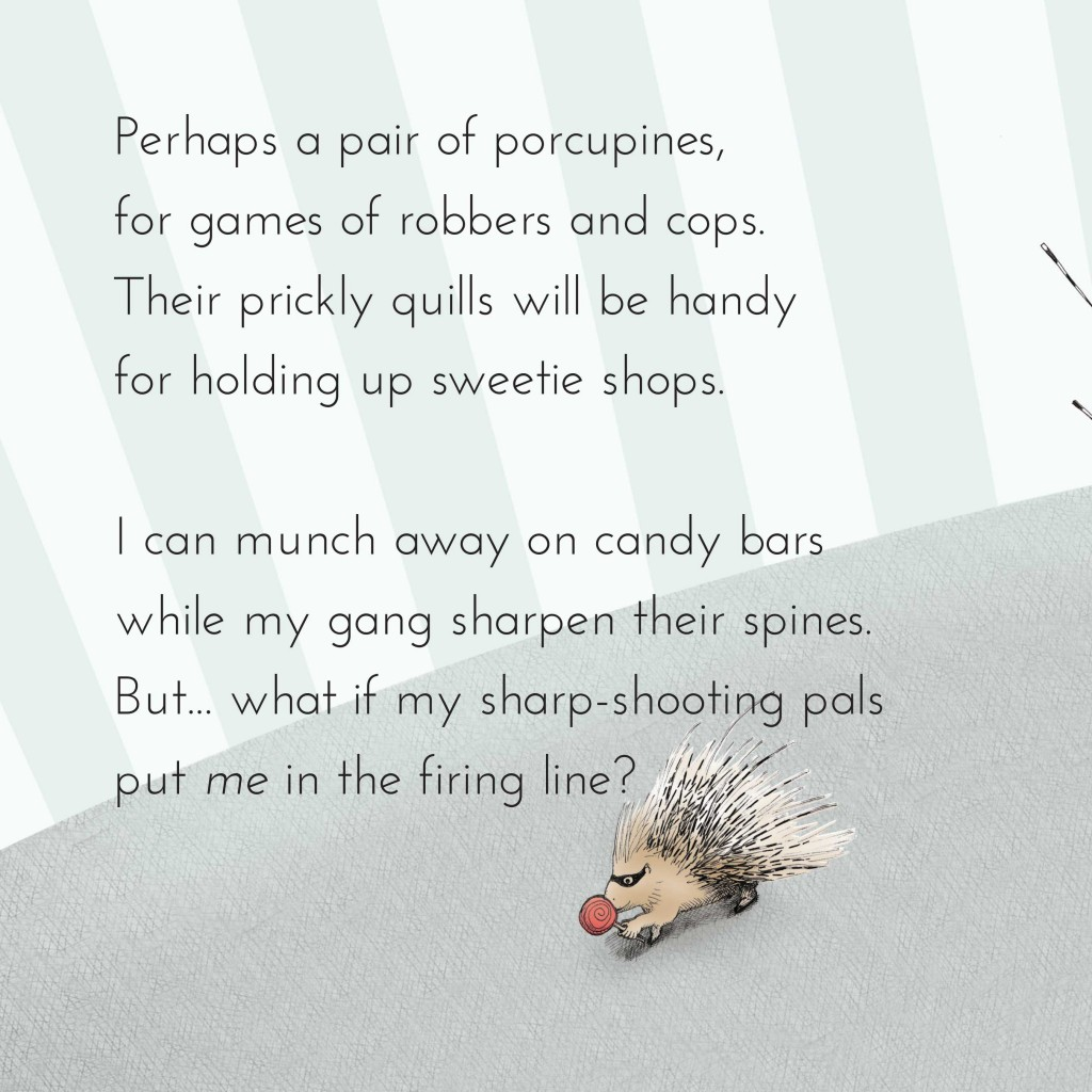 Book page 7 from short story for kids Maddy Moona's Menagerie by Book Dash