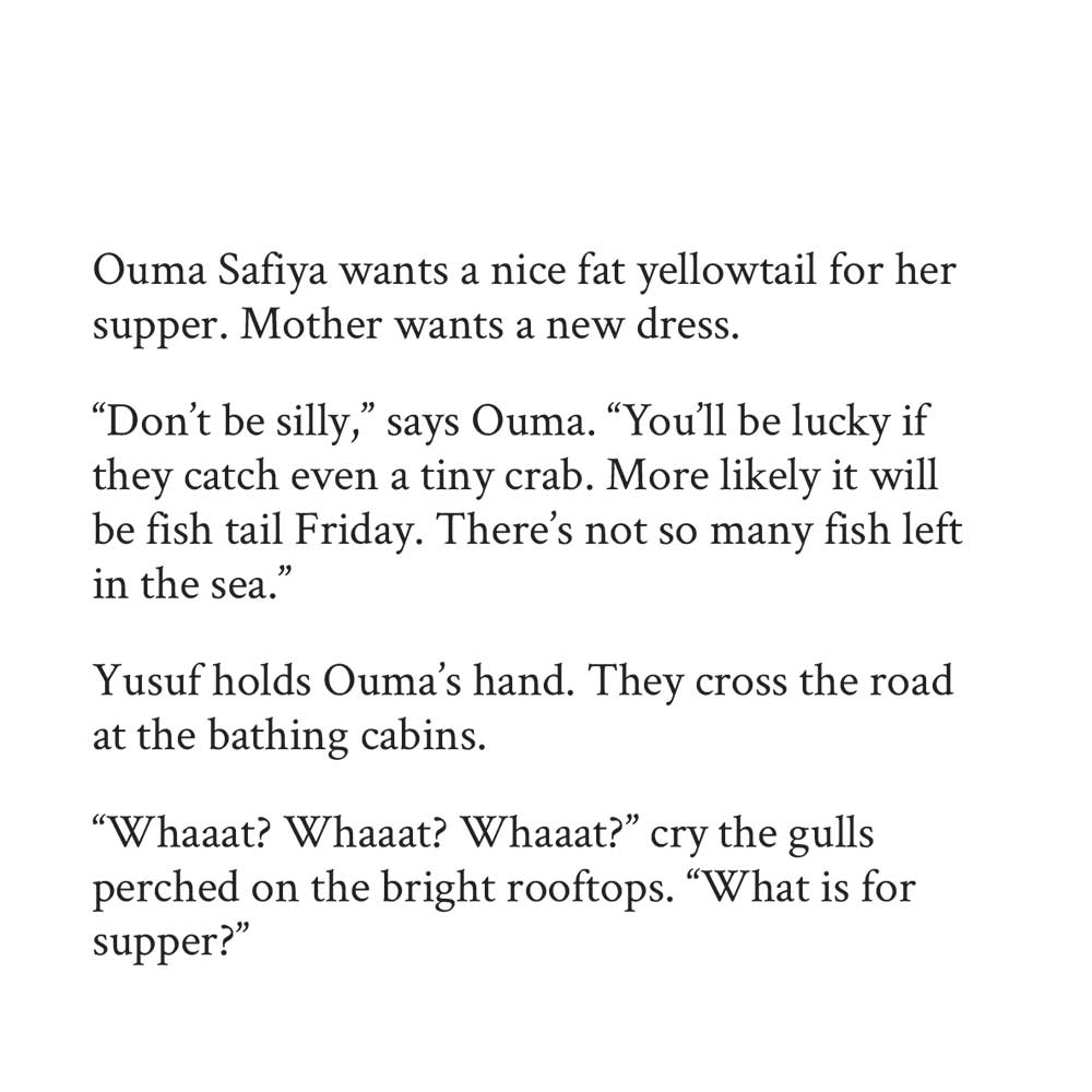 Book page 15 from short story for kids A Fish and a Gift by Book Dash