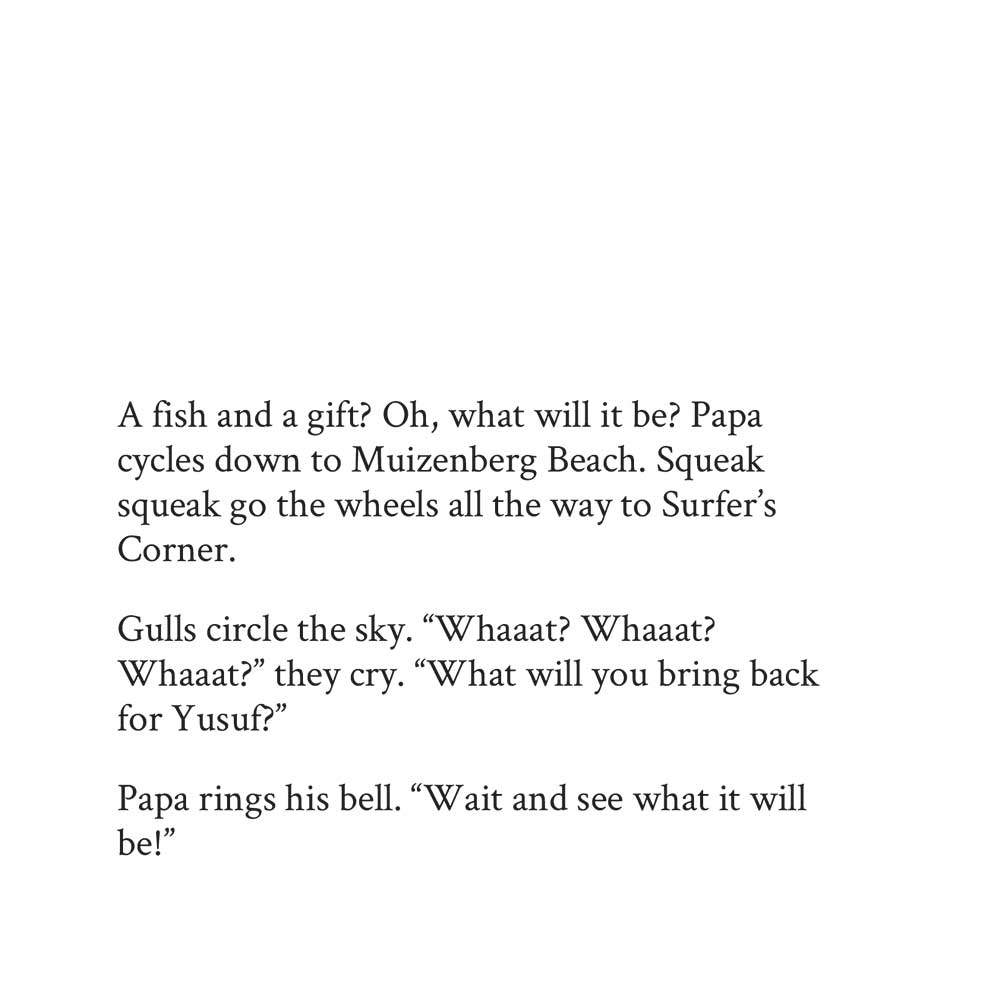 Book page 3 from short story for kids A Fish and a Gift by Book Dash