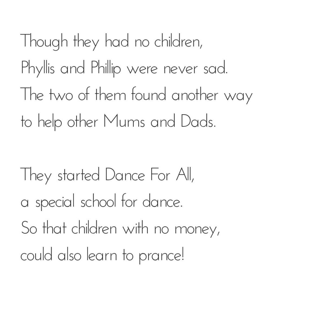 Picture book page 21 from bedtime story A Dancer's Tale by Book Dash
