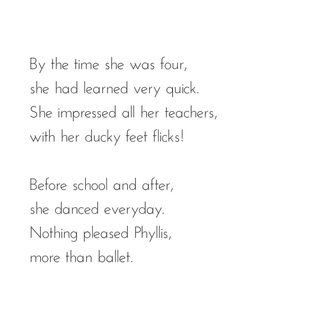 Picture book page 3 from bedtime story A Dancer's Tale by Book Dash