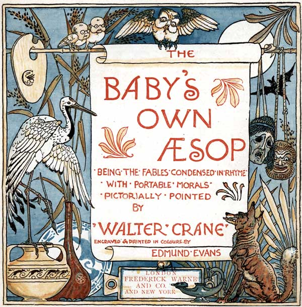 Babys Own Aesop Childrens Fables Book Cover