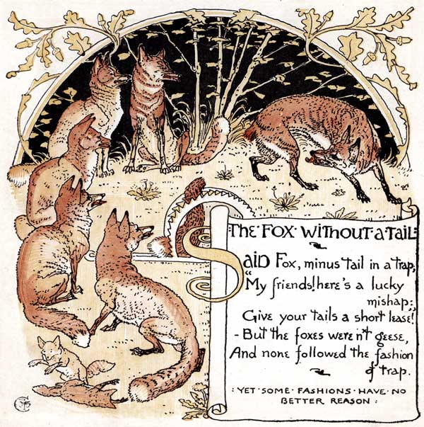 Babys Own Aesop Childrens Fables Fox Without Tail