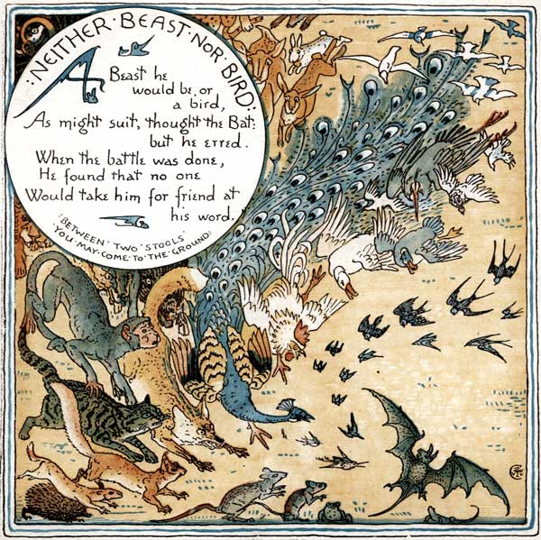 Babys Own Aesop Childrens Fables Neither Beast Nor Bird