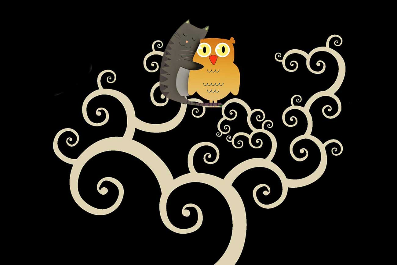 Owl and the Pussycat illustration - poems for kids
