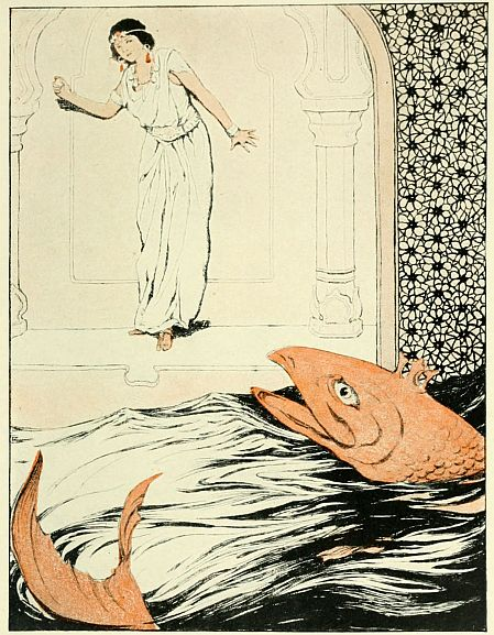 The Fish Prince bedtime stories illustration