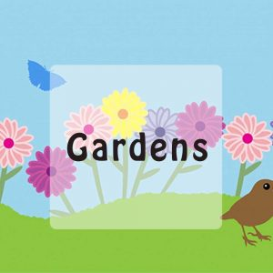 Garden stories for kids button
