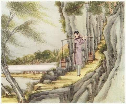 Princess Kwan Yin children's story illustration