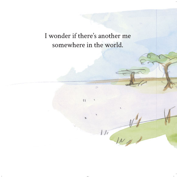 Illustration of African Bedtime Stories Anyone Like Me p1