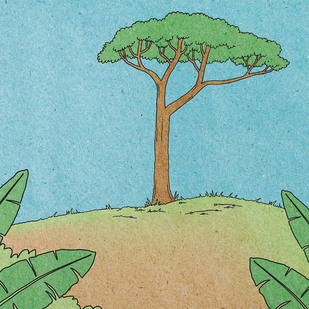 Illustration for free children's picture book A Beautiful Day 10