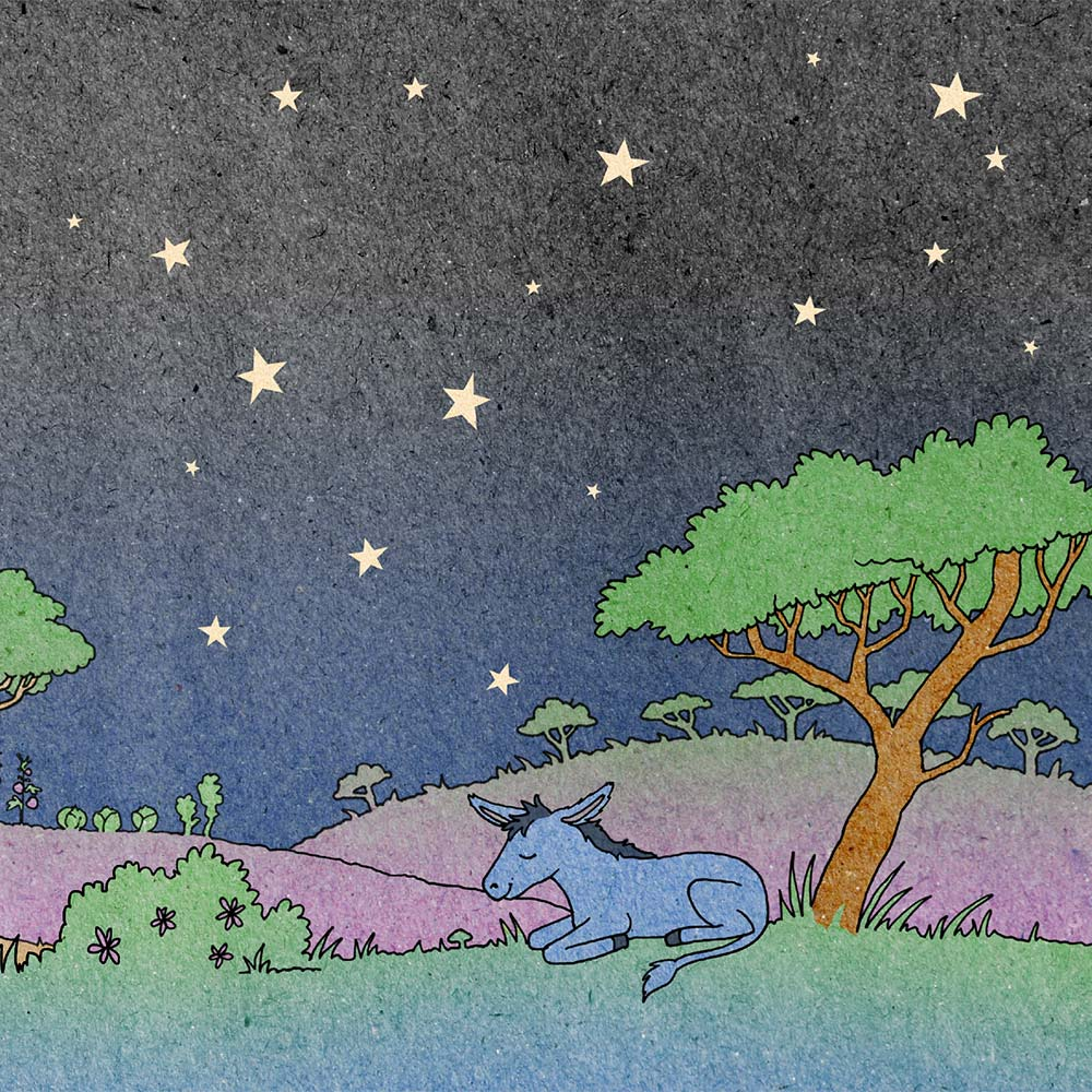 Illustration for free children's picture book A Beautiful Day 24