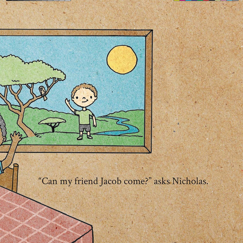 Illustration for free children's picture book A Beautiful Day 4