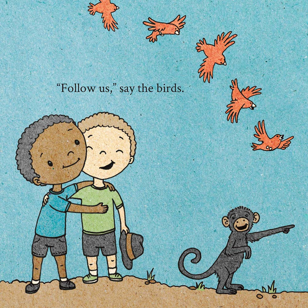 Illustration for free children's picture book A Beautiful Day 6