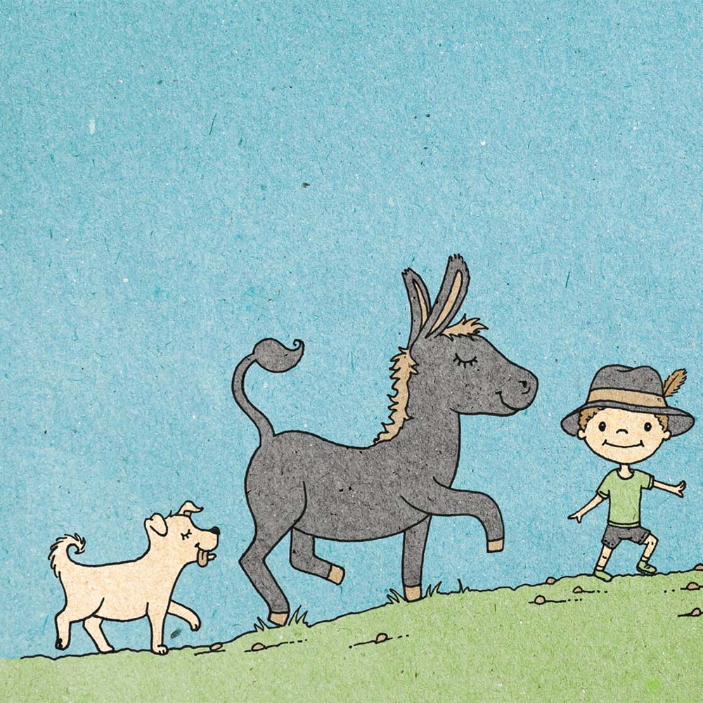 Illustration for free children's picture book A Beautiful Day 7